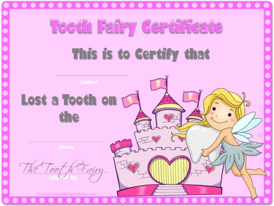 Notes Tooth Tooth Fairy Note
