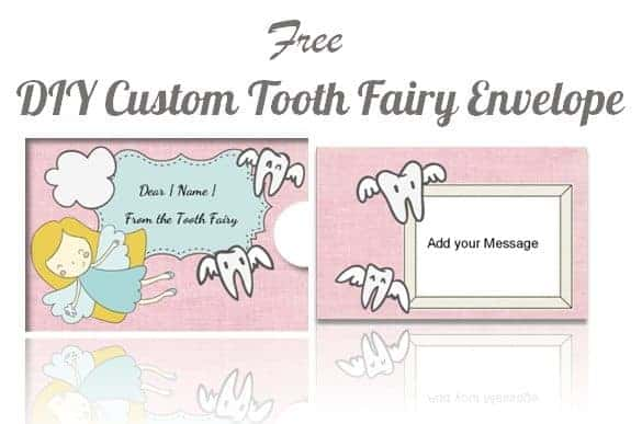 tooth fairy envelope template