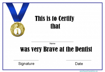 free printable certificate