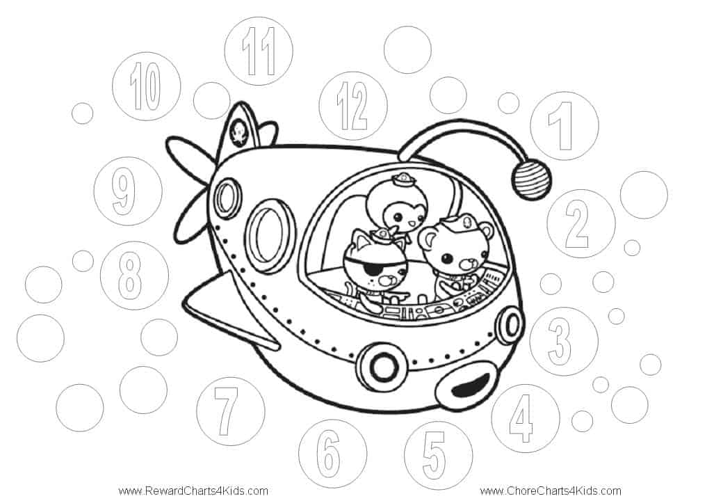 octonauts coloring pages bbc - photo#24