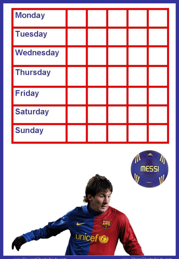weekly behavior chart template simple 30 of sticker chart template