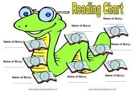 reading log to get kids to read