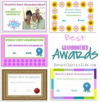 grandmother printables
