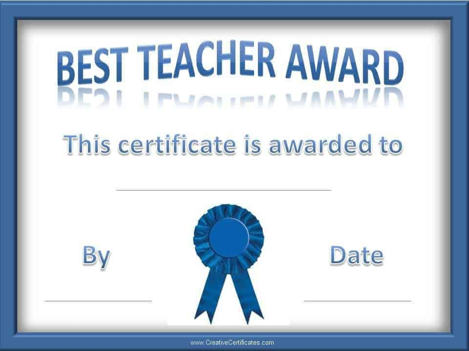 Best teacher award coloring pages free best teacher award best teacher award coloring pages pics photos best teacher award certificate template yadclub Gallery