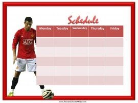 Soccer School Schedule