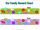Reward chart for 2 kids