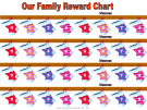 Reward chart for 4 kids