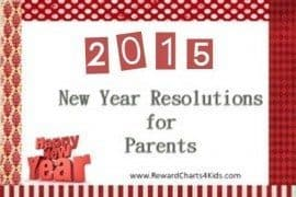 New Year Resolutions for Parents