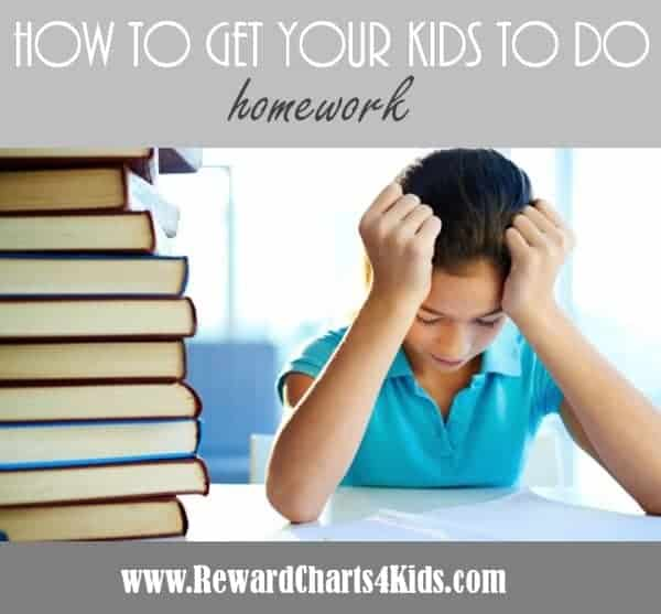 how to get kids to do homework