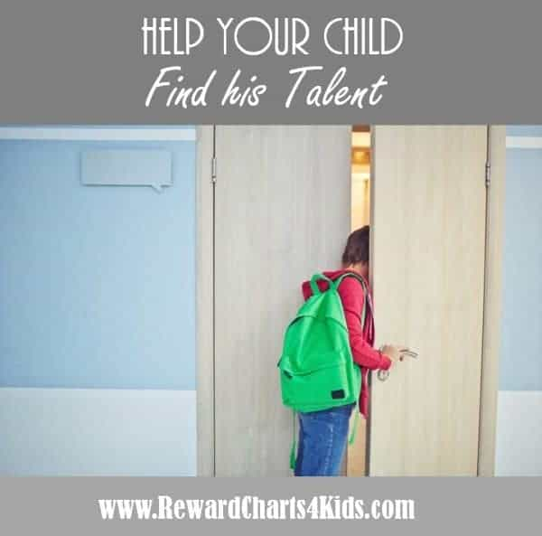 help your child find his talent