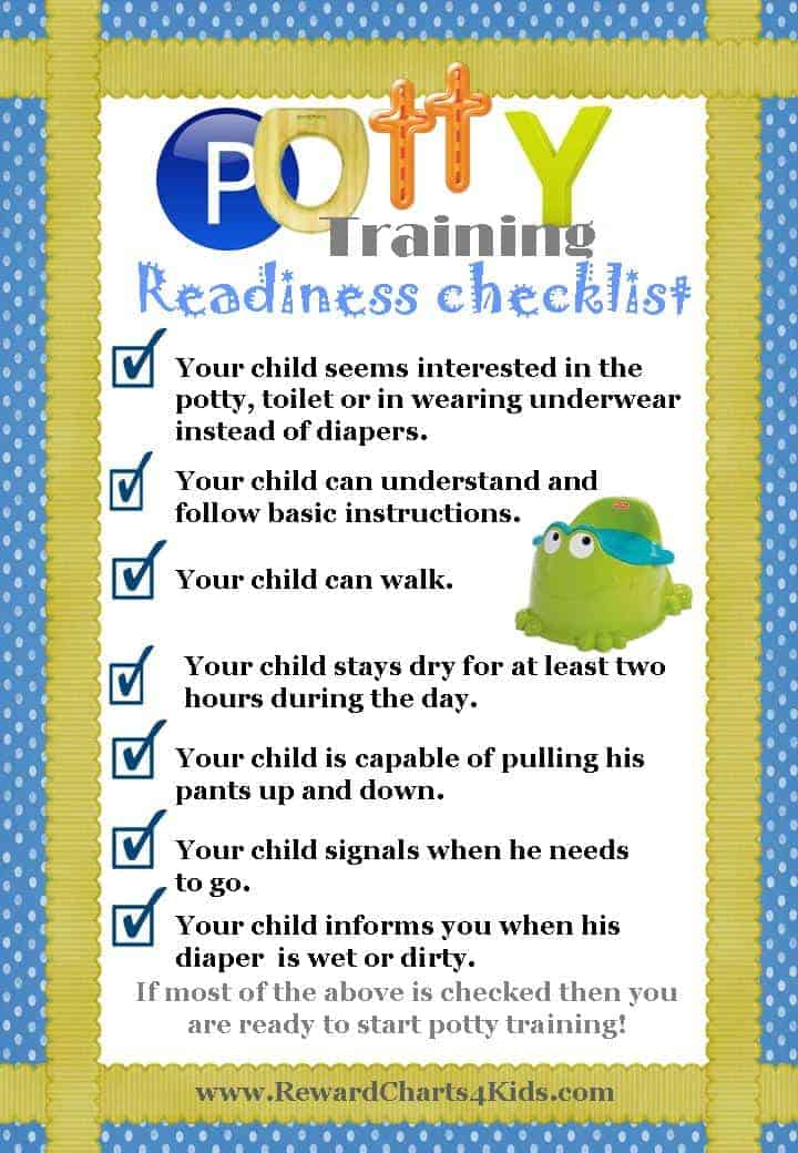 Ways to potty train a 4 year old