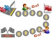 Behavior charts with racing car