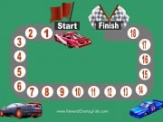 Behavior chart with racing car