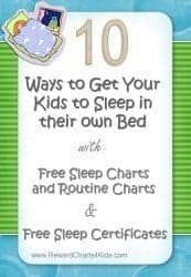 Sleep issues with children