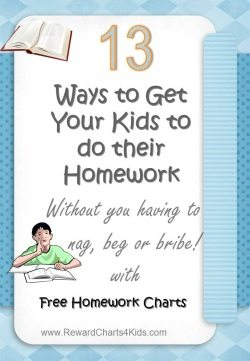 getting kids to do homework