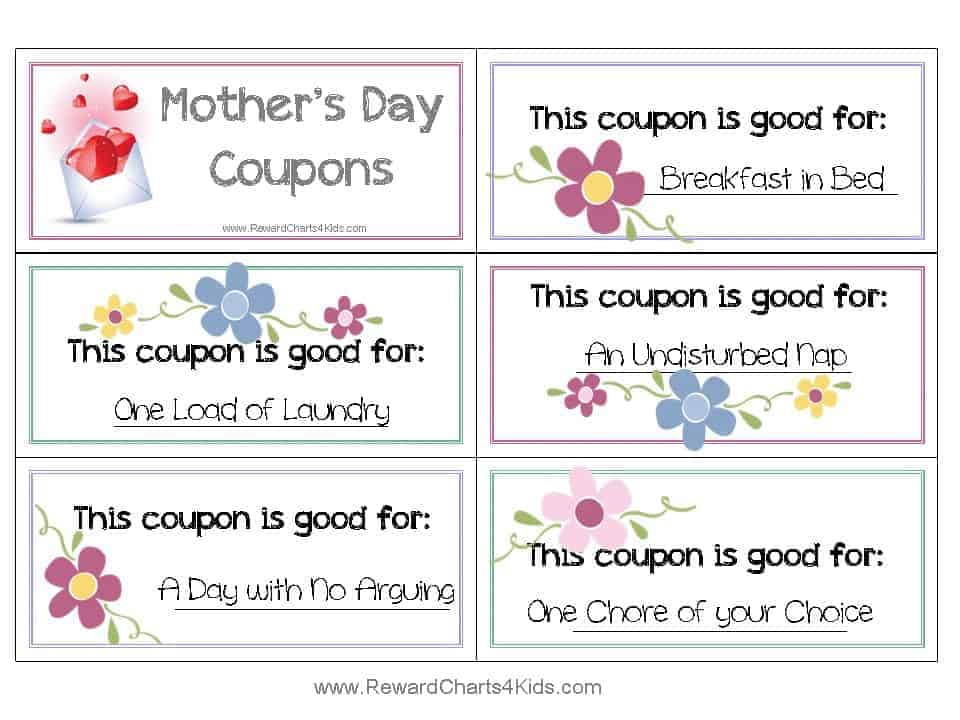 Free Coupon Book for Mom – Free Coupon Book Template
