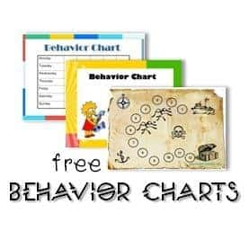 Behavior Charts and other Resources