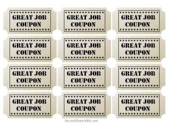 coupons for great job