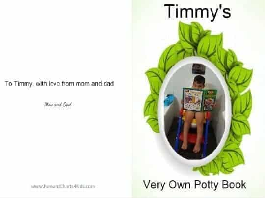 Potty book cover