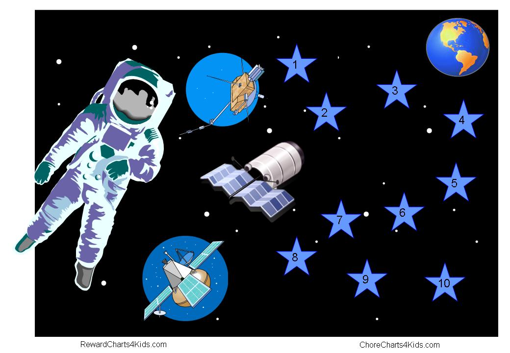 astronaut stickers - photo #1