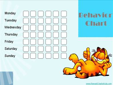 Free Printable Behavior Chart