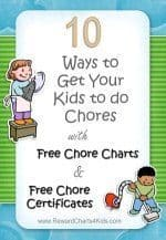 get your kids to do chores