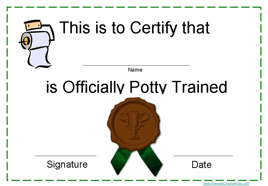 potty training rewards