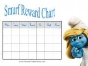 Smurf Reward Chart