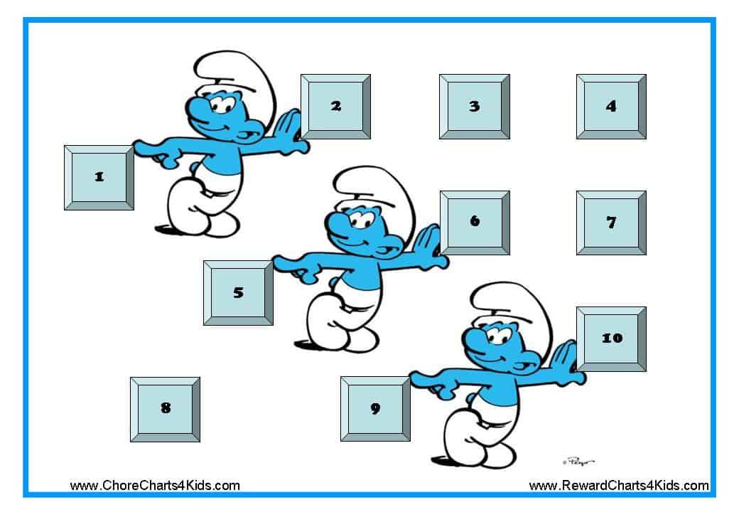 Smurf Reward Charts