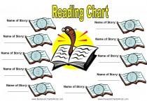 reward charts for reading