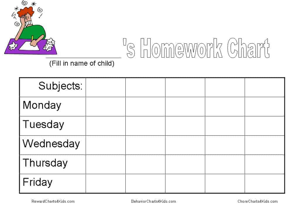 image regarding Printable Homework Chart titled Research chart and other instruments in the direction of purchase research completed