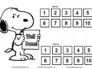 Reward chart for multiple children