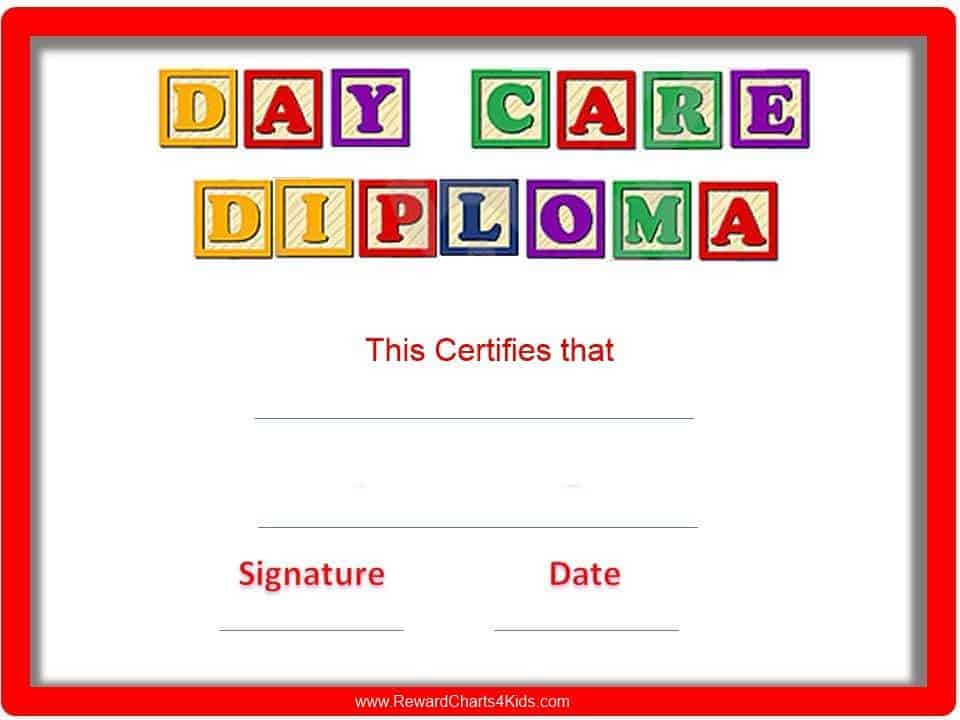 Preschool certificates yadclub
