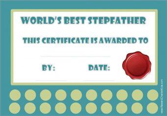 Best stepdad award