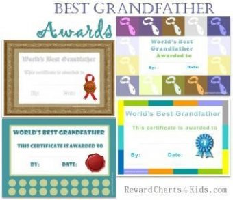 best grandfather certificates
