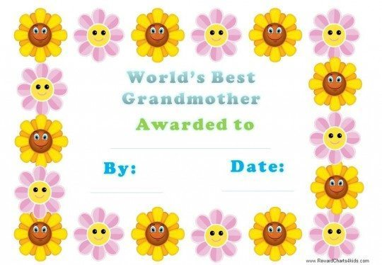 printables for grandmothers