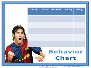Free Behavior Chart