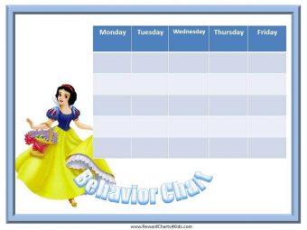 Free Printable Behavior Chart