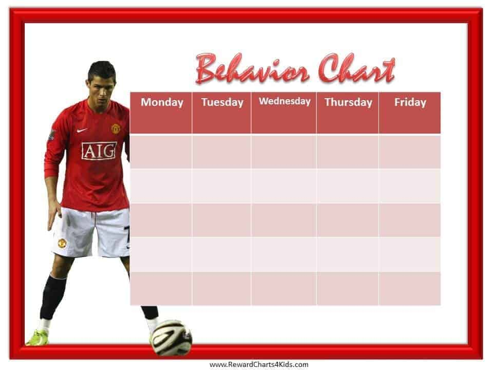 Soccer Behavior Chart