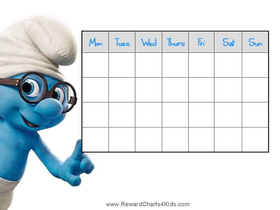 smurf behavior charts