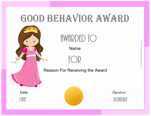 Award for girls