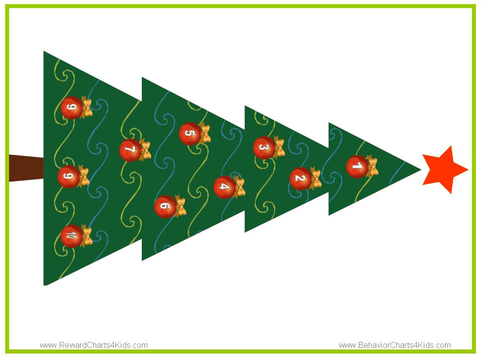 christmas behavior charts