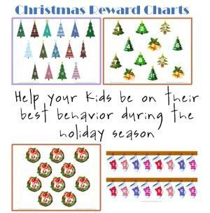 Christmas Reward Charts