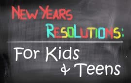 new year resolution for kids