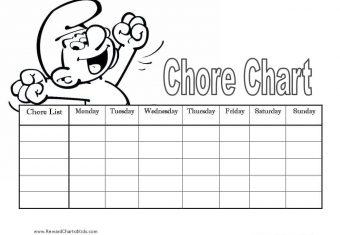 printable chore tracker