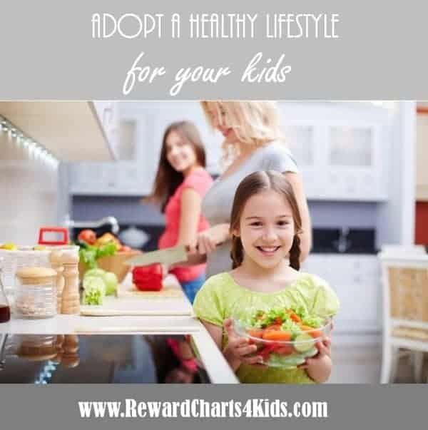 healthy lifestyle for family and kids