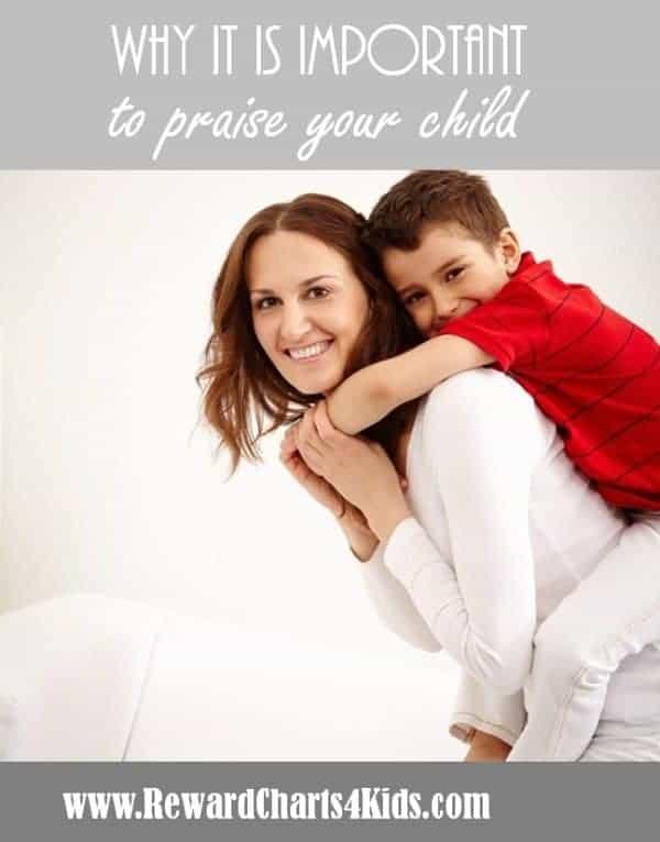 parenting - praise your child
