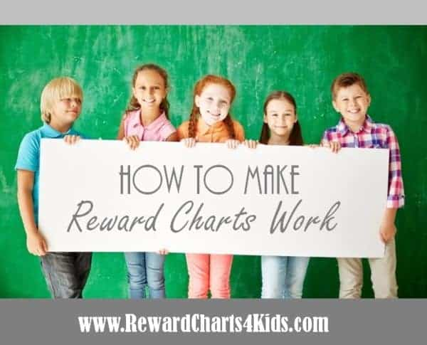 how to make reward charts work