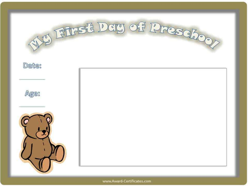 free printable certificates for kids