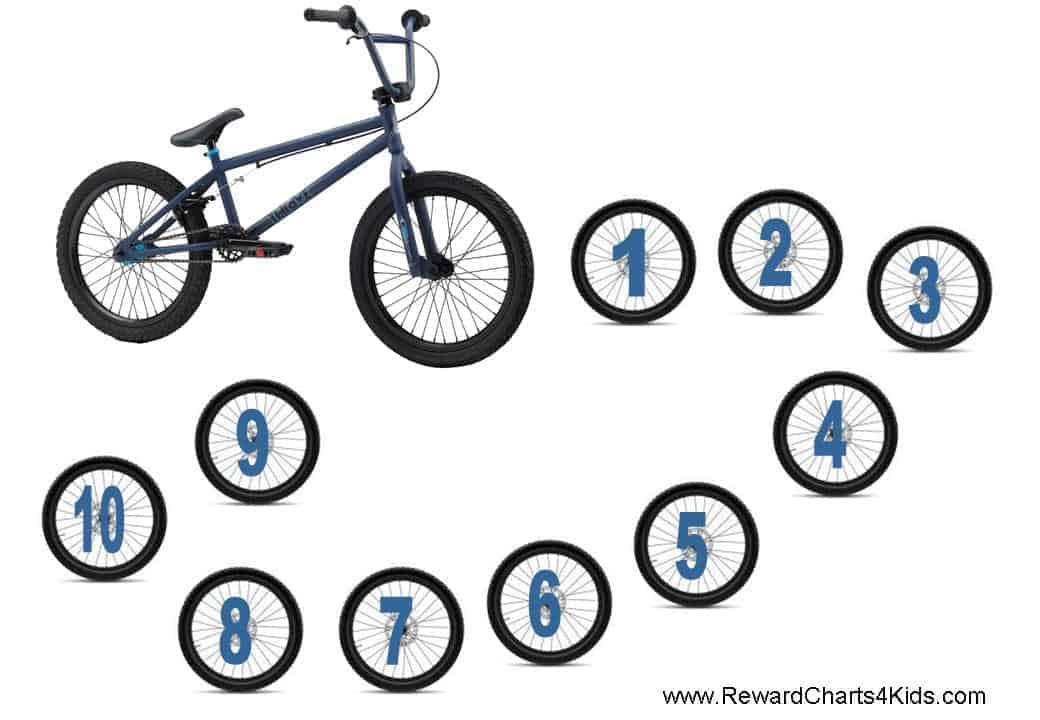 Bmx Reward Chore And Behavior Charts